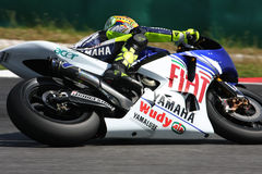 Valentino Rossi. From Italy, of Fiat Yamaha Team 2008 Stock Images