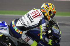 Valentino Rossi. From Italy, of Fiat Yamaha Team 2008 Royalty Free Stock Photo