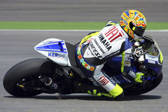 Valentino Rossi. From Italy, of Fiat Yamaha Team 2008 Royalty Free Stock Images