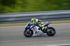 Valentino Rossi - Autorización Yamaha Imagen de archivo libre de regalías