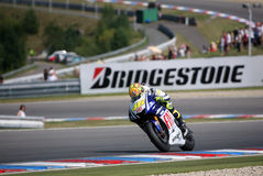 Valentino Rossi at Brno Circuit Royalty Free Stock Image