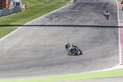 Valentino Rossi de l'emballage d'équipe d'usine de Yamaha Photographie stock libre de droits