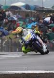 Valentino Rossi Donington MotoGP 2009 Immagini Stock