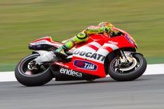 Valentino Rossi (Ducati) Stock Image