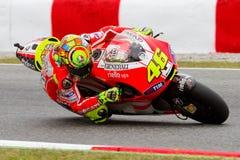 Valentino Rossi (Ducati) Stock Images