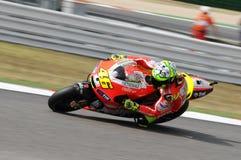 Valentino Rossi DUCATI MOTOGP photo libre de droits