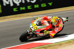 Valentino Rossi DUCATI MOTOGP image stock