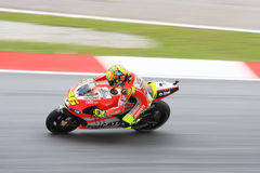 Valentino Rossi of Ducati Team Royalty Free Stock Image