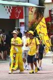 Valentino Rossi fan stock photo