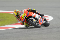Valentino rossi, knee down, Stock Photos