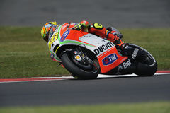 Valentino rossi, moto gp 2012 Royalty Free Stock Image