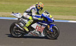 Valentino Rossi at the MotoGP 2008 Royalty Free Stock Image