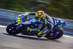 Valentino Rossi, MOTOGP Brno 2015 Fotografía de archivo libre de regalías