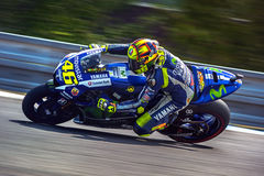 Valentino Rossi, MOTOGP Brno 2015 Photographie stock libre de droits