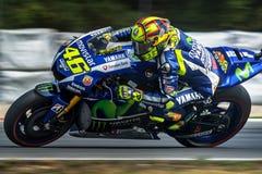 Valentino Rossi, MOTOGP Brno 2015 Fotos de archivo libres de regalías