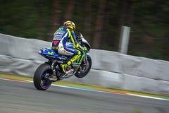 Valentino Rossi, MOTOGP Brno 2015 Lizenzfreie Stockbilder