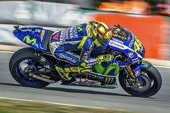 Valentino Rossi, MOTOGP Brno 2015 Lizenzfreies Stockbild