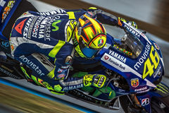 Valentino Rossi, MOTOGP Brno 2015 Stockbilder