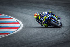 Valentino Rossi, MOTOGP Brno 2015 Lizenzfreies Stockfoto