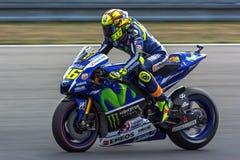 Valentino Rossi, MOTOGP Brno 2015 Stockfotografie