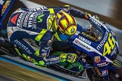 Valentino Rossi, MOTOGP Brno 2015 Stock Images