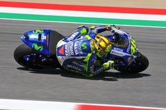 Valentino Rossi MOVISTAR YAMAHA MOTOGP chez Mugello 2015 photo stock