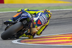 Valentino ROSSI. Movistar Yamaha MotoGP. Stock Photo