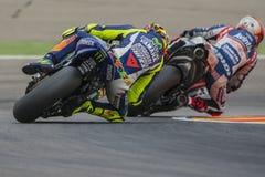 Valentino ROSSI. Movistar Yamaha MotoGP. Royalty Free Stock Photography