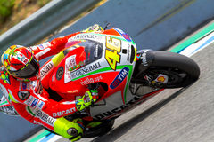 Valentino Rossi pilot of MotoGP Royalty Free Stock Photography