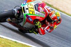 Valentino Rossi pilot of MotoGP Royalty Free Stock Image