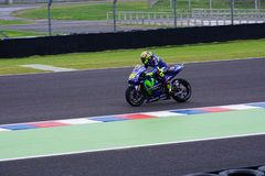 Valentino Rossi, in qualification. royalty free stock photos