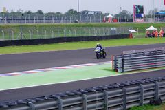 Valentino Rossi, in qualification. royalty free stock images