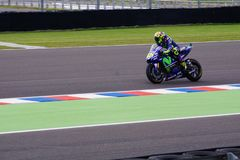 Valentino Rossi, in qualification. royalty free stock photography