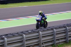 Valentino Rossi, in qualification. royalty free stock photo