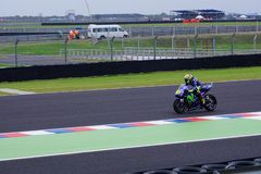 Valentino Rossi qualification day stock images