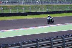 Valentino Rossi, in qualification. stock photography