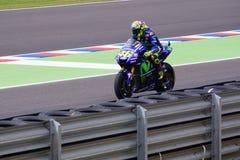 Valentino Rossi, in qualification. stock image