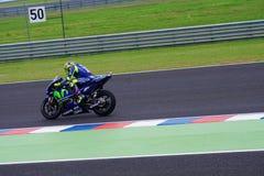 Valentino Rossi, qualifying in Termas de rio Hondo stock image