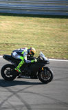 Valentino Rossi tested in Brno Stock Photography