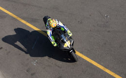 Valentino Rossi tested in Brno Royalty Free Stock Image