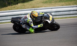 Valentino Rossi tested in Brno Royalty Free Stock Images
