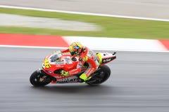Valentino Rossi van Team Ducati Royalty-vrije Stock Afbeelding