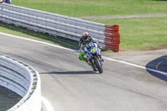 Valentino Rossi van Yamaha-Fabrieksteam het rennen Stock Foto's