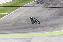 Valentino Rossi of Yamaha Factory team racing stock photos