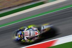Valentino Rossi YAMAHA MOTOGP Stock Foto