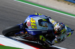 Valentino Rossi YAMAHA MOTOGP images libres de droits