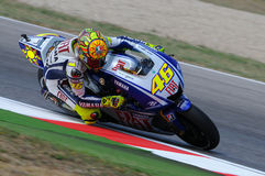 Valentino Rossi YAMAHA MOTOGP Photo libre de droits