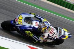 Valentino Rossi YAMAHA MOTOGP Royalty-vrije Stock Foto