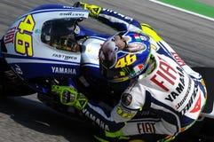 Valentino Rossi YAMAHA MOTOGP photo stock