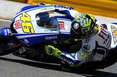 Valentino Rossi YAMAHA MOTOGP photographie stock libre de droits